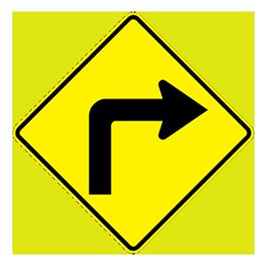 arizona sharp right turn