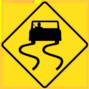 california slippery when wet