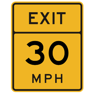 florida exit speed
