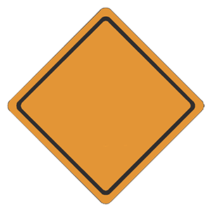 illinois construction road sign