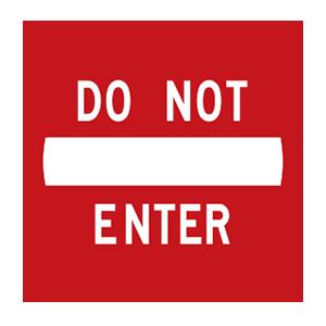indiana do not enter