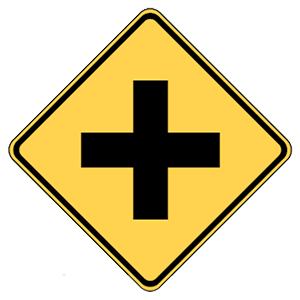maryland intersection road sign