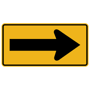 pennsylvania directional arrow right