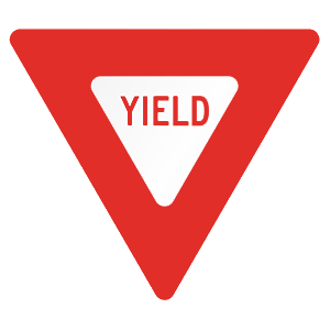 pennsylvania yield road sign