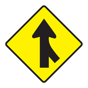 tennessee traffic blending road sign