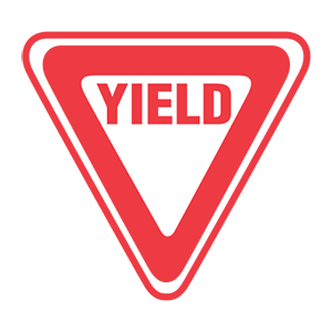 tennessee yield road sign