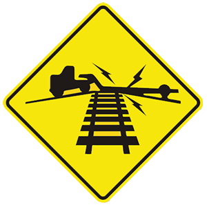 virginia low ground railroad crossing