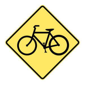 washington advance warning bicycles