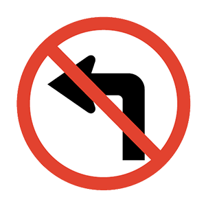 arkansas no left turn