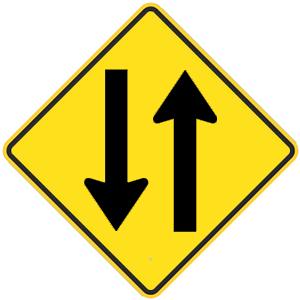 california two way traffic
