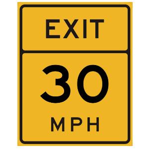 florida exit speed