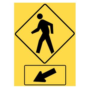 washington pedestrian crossing